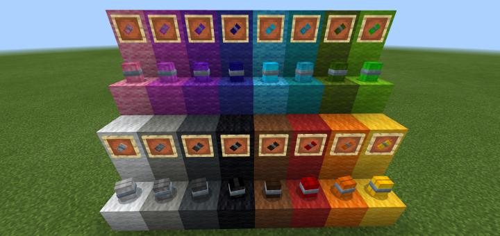 Paint Bombs Minecraft Addon Mod 1 16 0 59 1 16 0 1 15 0 1 14 30