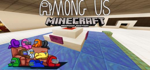 Among Us Bedrock Edition Minecraft Map