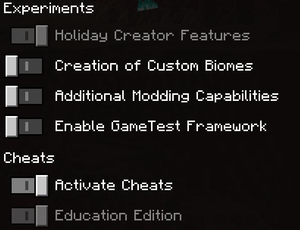 Origins Minecraft PE Addon